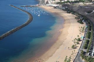 Пляж Лас Тереситас (Playa de Las Teresitas), Тенерифе