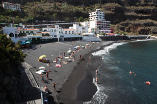 Пляж Сан Маркос (Playa San Marcos), Икод-де-лос-Винос, Тенерифе